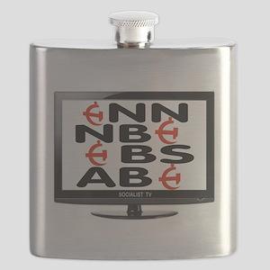 FAKE TV Flask