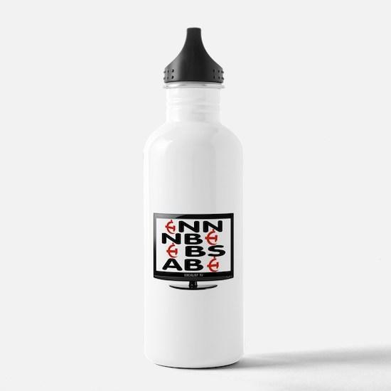 FAKE TV Water Bottle