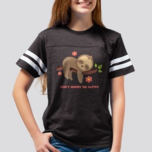 Don't Hurry Sloth Youth Football Shirt