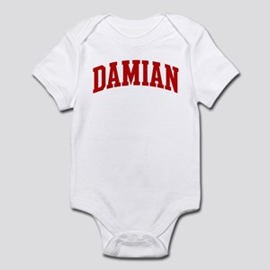 DAMIAN (red) Infant Bodysuit