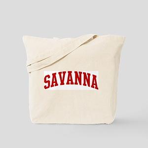 SAVANNA (red) Tote Bag