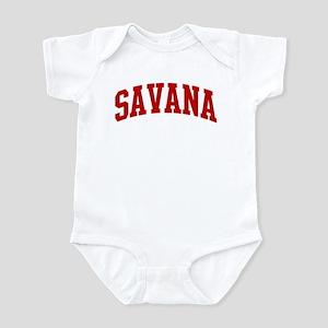 SAVANA (red) Infant Bodysuit