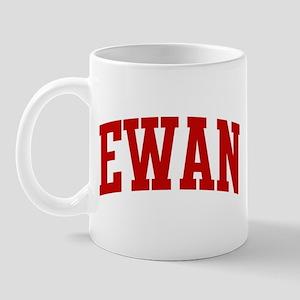 EWAN (red) Mug