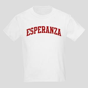 ESPERANZA (red) Kids Light T-Shirt