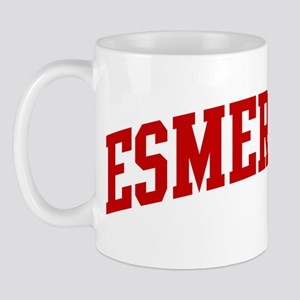 ESMERALDA (red) Mug