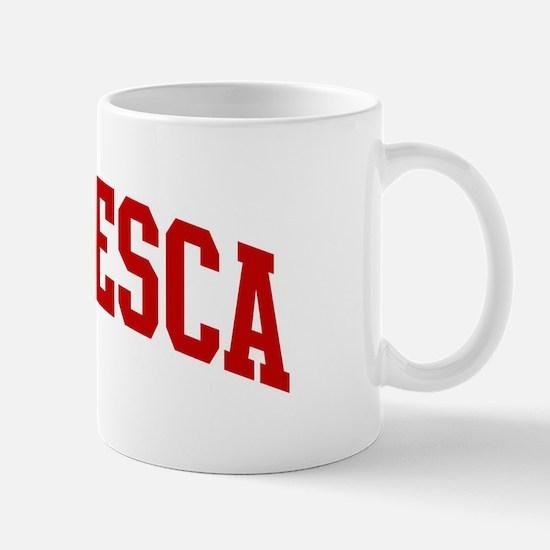 FRANCESCA (red) Mug
