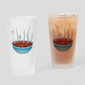 Chili Drinking Glass