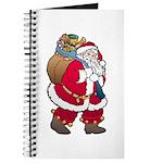 Christmas Art Santa Claus Journal