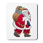 Christmas Art Santa Claus Mousepad