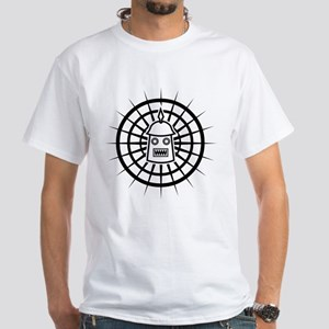 Spiked Robot White T-Shirt