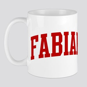 FABIAN (red) Mug