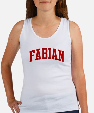 FABIAN (red) Women's Tank Top