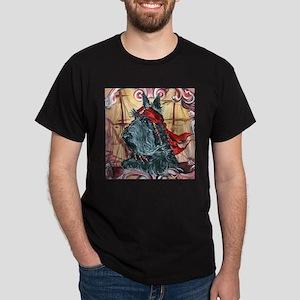 a pirate button T-Shirt