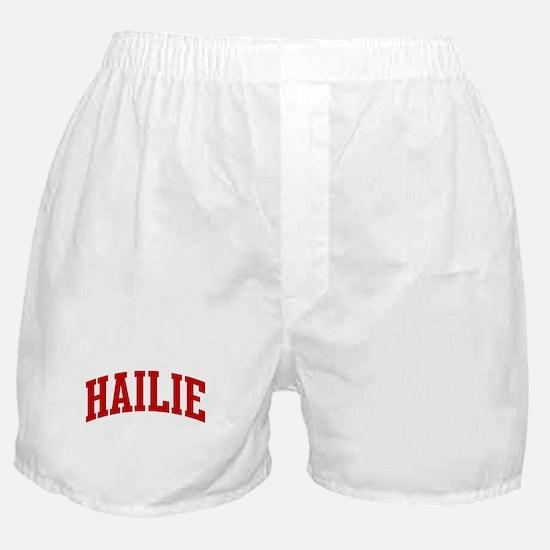 HAILIE (red) Boxer Shorts