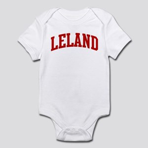 LELAND (red) Infant Bodysuit