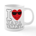 I LOVE NAPA VALLEY Mugs