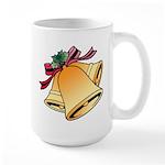 Christmas Art Bells Large Mug