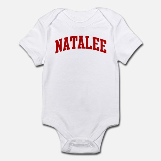 NATALEE (red) Infant Bodysuit