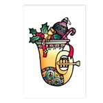 Christmas Art Holiday Decorations Postcards (8)