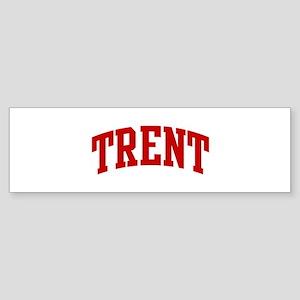 TRENT (red) Bumper Sticker