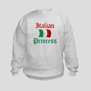 Italian Princess 2 Kids Sweatshirt