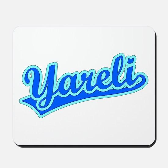 Retro Yareli (Blue) Mousepad