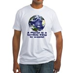 Planet Fitted T-Shirt