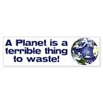 Planet Bumper Sticker