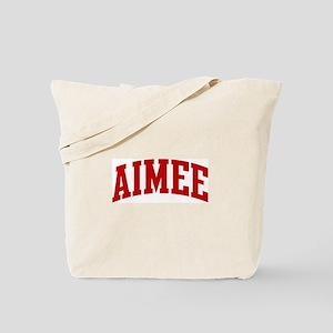 AIMEE (red) Tote Bag