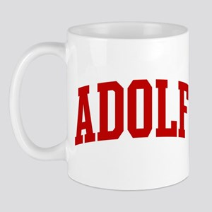 ADOLF (red) Mug