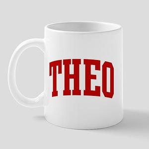 THEO (red) Mug