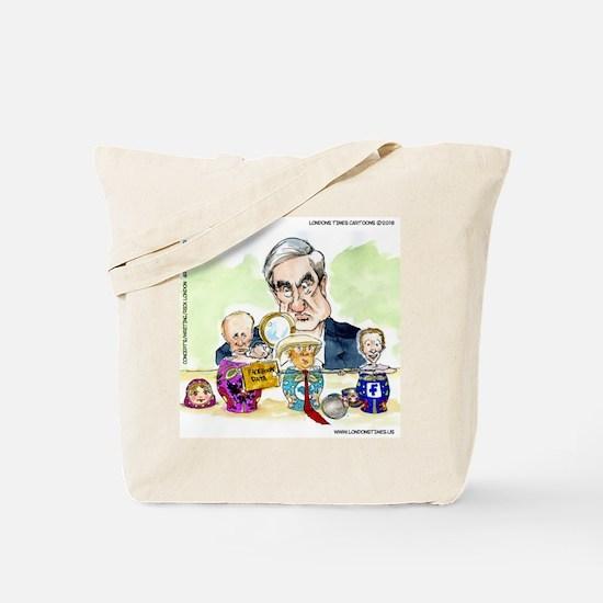 Trump Putin Stacking Dolls Tote Bag