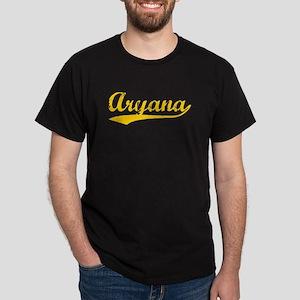 Vintage Aryana (Orange) Dark T-Shirt