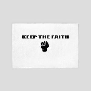 Keep The Faith 4' x 6' Rug