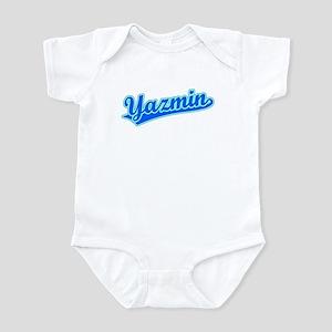 Retro Yazmin (Blue) Infant Bodysuit