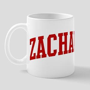 ZACHARY (red) Mug