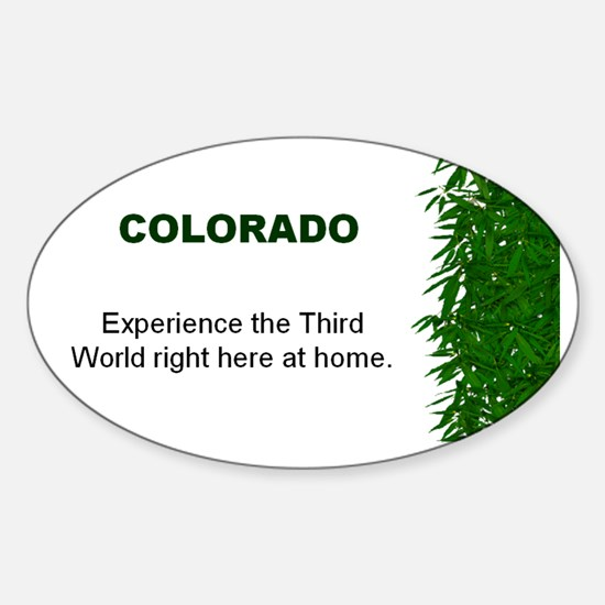 Colorado Oval Decal