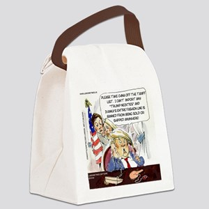 Trump China Tariff Canvas Lunch Bag