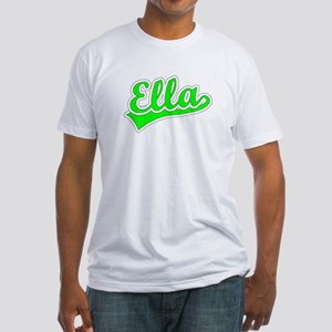 Retro Ella (Green) Fitted T-Shirt