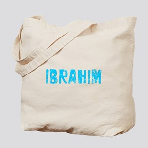 Ibrahim Faded (Blue) Tote Bag