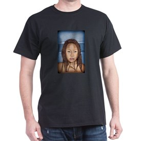 Black Girl Art Painting T-Shirt