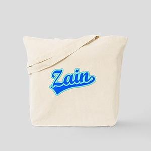 Retro Zain (Blue) Tote Bag