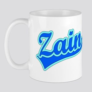 Retro Zain (Blue) Mug