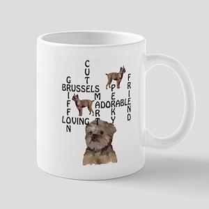 Brussels Griffon Crossword Mug
