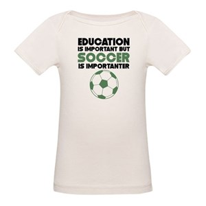 bacbbe344a5 Soccer Organic Baby T-Shirts - CafePress