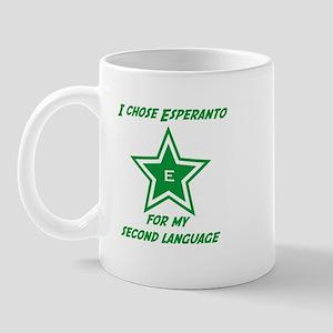 I chose Esperanto Mug