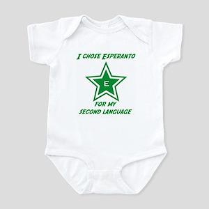 I chose Esperanto Infant Bodysuit