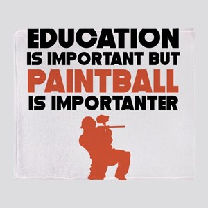 Education Is Important But Paintball Is Importante