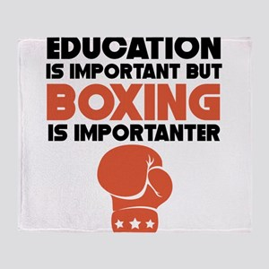 Education Is Important But Boxing Is Importanter T