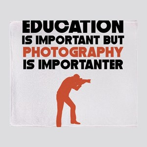 Education Is Important But Photography Is Importan